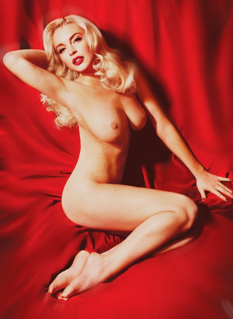 линдси лохан фото голая